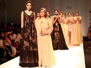 Sulakshana Monga Collection At Amazon India Fashion Week
