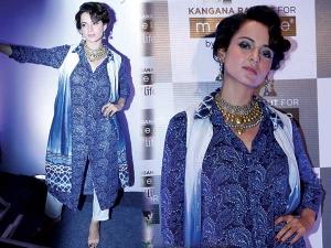 Kangana Ranaut Brand Ambassador For Melange By Lifestyle