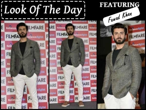 Look Of The Day Fawad Khan In Gaurav Khanijo