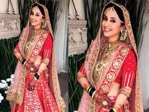 Urmila Matondkar Wedding Lehenga Is By Manish Malhotra