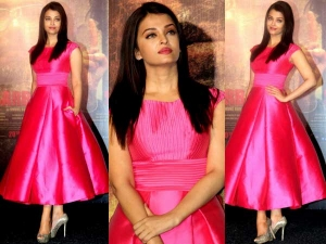 Sarabjit Trailer Launch Aishwarya Rai Bachchan Dressed In Pink Check I