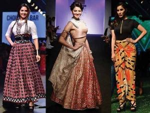 Twelve Celebritites At Lakme Fashion Week 2016 Who Amazed Us With Thei
