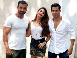 Dishoom Shoot John Abraham Varun Dhawan Jacqueline Make A Good Team