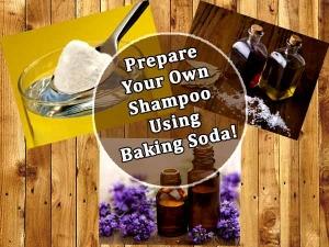 Diy Prepare Your Own Shampoo Using Baking Soda