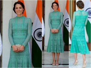 Kate Middleton In India Day 3 Dresses