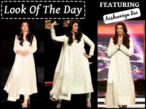 Look Of The Day Aishwarya Rai Bachchan Sarabjit Promotions