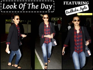 Look Of The Day Radhika Apte Airport Style Check It Out