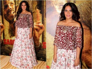 Richa Chadha Sarabjit Promotions Song Launch Check Out What She Wore