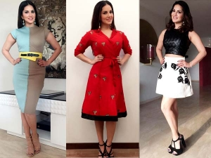 Sunny Leone One Night Stand Promotion Outfits Have A Look