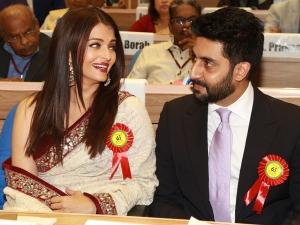 Aishwarya Rai Bachchan In Saree At The National Awards Check It Out