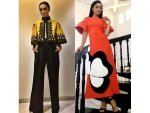 Amy Jackson Looking Chic And Stylish In 2 Outfits Check It Out