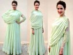 Lakshmi Manchu Looking Stunning In Ridhi Mehra Outfit Check It Out