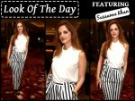 Look Of The Day Sussanne Khan In Striped Pants