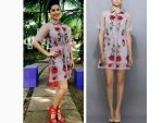 Sunny Leone Splitsvilla Season 9 Wearing Cutest Shirt Dress