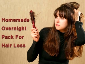 Simple Homemade Overnight Pack For Hair Loss Treatment