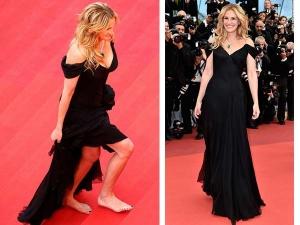 Julia Roberts Walks Bare Feet At Cannes 2016 Red Carpet