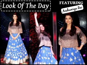 Look Of The Day Aishwarya Rai Bachchan Sarabjit Promotions Check It