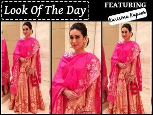 Look Of The Day Karishma Kapoor In Sizzling Hot Lehenga