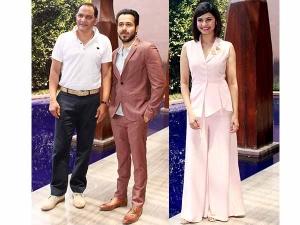 Azhar Promotions Emraan Hashmi Prachi Desai Are Colour Coordinated