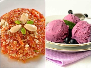 Amazing Sweets And Ice Cream Combination