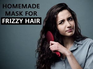 Powerful Homemade Hair Mask For Frizzy Hair