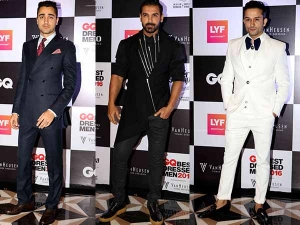 Gq Best Dressed Men 2016 Awards Take A Quick Look