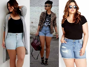 Shorts For Big Thighs 7 Styling Tips For Wearing Shorts For Curvy Girl