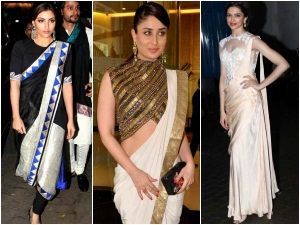 Saree Gowns How To Wear Saree Gowns Bollywood Style