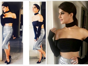 Look Of The Day Jacqueline Fernandez Dishoom Trailer Launch