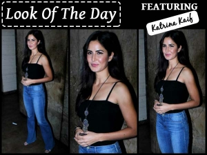 Look Of The Day Katrina Kaif Pulling Off Her Casual Wear