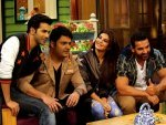 Dishoom Movie Varun Dhawan Jacqueline John Promoting Kapil Sharma Show