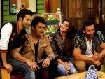 Dishoom Movie Varun Dhawan Jacqueline John Promoting Kapil Sharma Show
