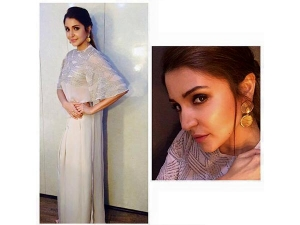 Anushka Sharma For Sultan Promotions In Riddhi Mehra