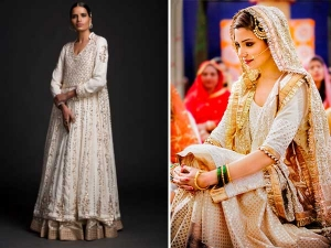 Anushka Sharma Sultan Movie Wedding Outfit Check It Out