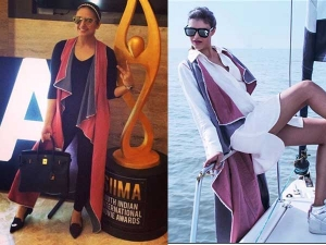 Huma Qureshi Siima Awards Travel Outfit Check It Out