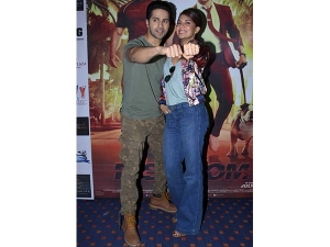 Dishoom Promotions Varun John Jacqueline Promoting Dishoom