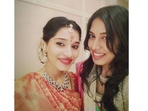 Tamil Actor Chiyaan Vikrams Daughter Akshita Gets Engaged Wearing Silk