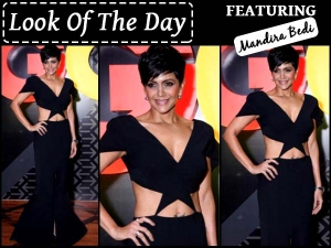 Look Of The Day Mandira Bedi Hosting Gq India 50 Most Influential