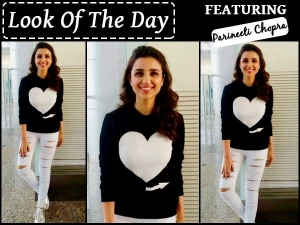 Look Of The Day Parineeti Chopra For Dishoom Promotions