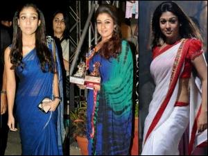 Nayanthara Saree Looks Best Of Nayanthara Sarees Take A Look