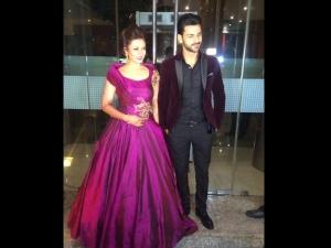 Divyanka Tripathi Mumbai Reception Gown Is Stunning