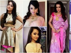 Trisha Krishnan Fashion 10 Looks Of Trisha That You Will Steal