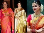Bollywood Actresses In Kanjivaram Silk Sarees Take A Look