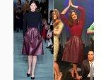 Priyanka Chopra For Project Runway In Oscar Dela Renta Skirt