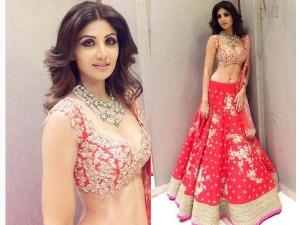 Shilpa Shetty Showstopper Anushree Reddy Lakme Fashion Week