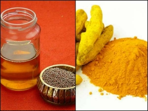 Health Benefits Of Mustard Oil And Turmeric