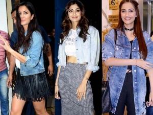 Denim Jackets In Bollywood Divas Mad Over Denim Jacket Look