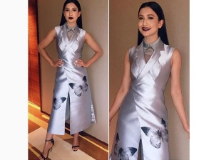 Gauhar Khan In Dolly J Outfit Wore A Horrifying Lipstick