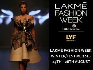 Lakme Fashion Week 2016 Winter Festive Collection
