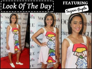 Look Of The Day Sayani Gupta Masaba Dress At Masabas Latest Collection